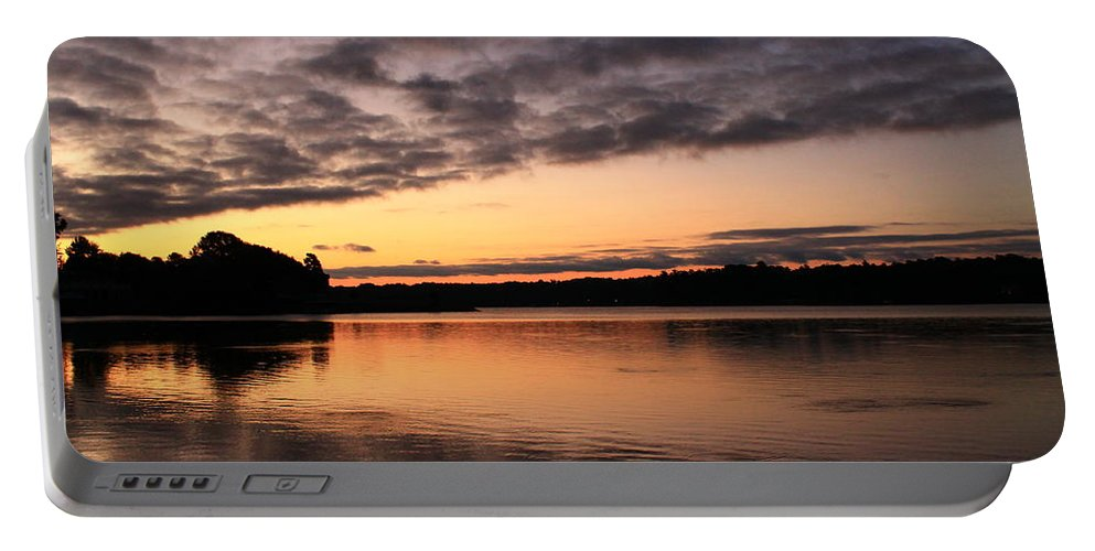 Sunrise Portable Battery Charger featuring the photograph Good Morning by Catie Canetti