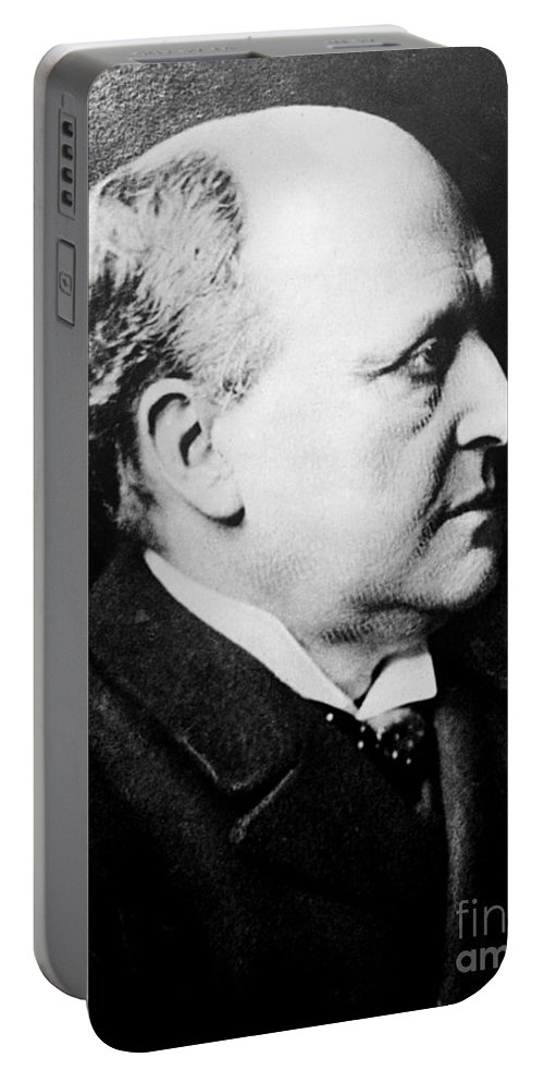History Portable Battery Charger featuring the photograph Henry James, American-born British by Photo Researchers