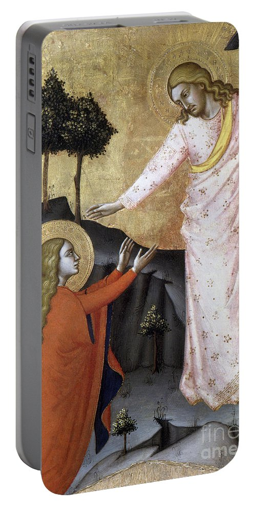 14th Century Portable Battery Charger featuring the photograph Jesus: Resurrection by Granger