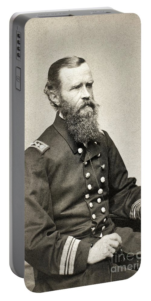 1862 Portable Battery Charger featuring the photograph John L. Worden (1818-1897) by Granger
