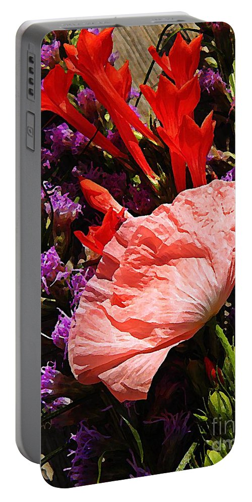 Nature Portable Battery Charger featuring the photograph Latecomer by Chris Berry
