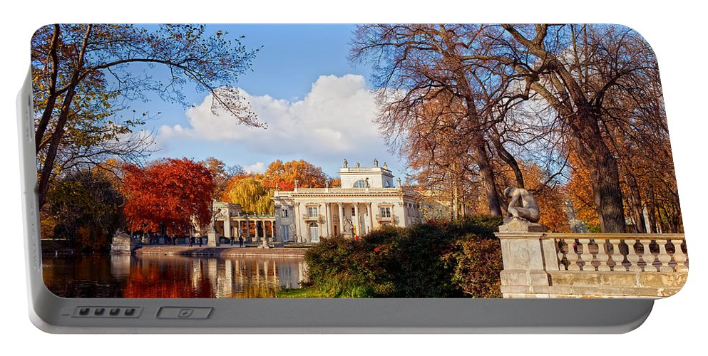 Lazienki Portable Battery Charger featuring the photograph Lazienki Park In Warsaw by Artur Bogacki