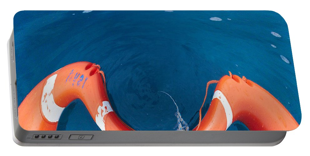 2012 Portable Battery Charger featuring the photograph Life Buoy by Jouko Lehto