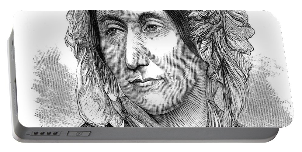 Science Portable Battery Charger featuring the photograph Mary Somerville, Scottish Polymath by Science Source