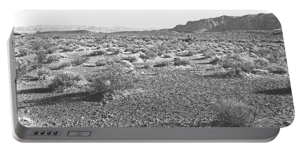 Desert Portable Battery Charger featuring the photograph Nevada Desert by Frank Wilson