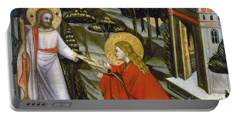 14th Century Portable Battery Charger featuring the photograph Noli Me Tangere by Granger