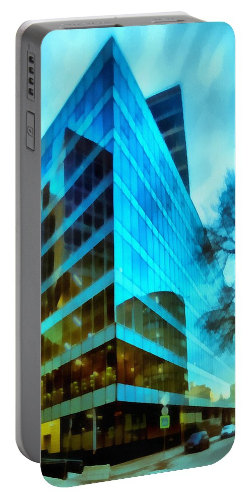 Art Portable Battery Charger featuring the photograph Reflections by Michael Goyberg