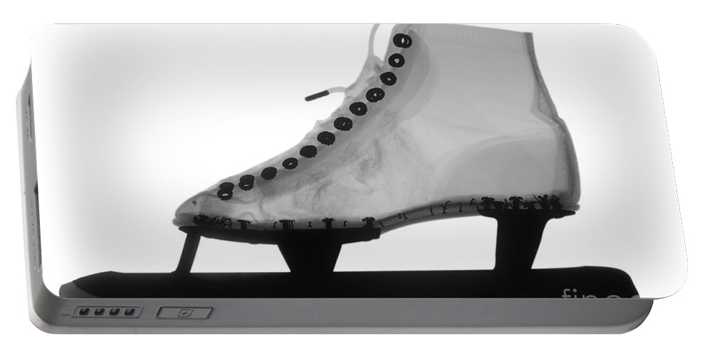 X-ray Portable Battery Charger featuring the photograph Speed Skate by Ted Kinsman