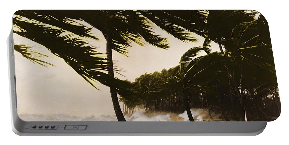 Weather Portable Battery Charger featuring the photograph Storm Surge by Omikron