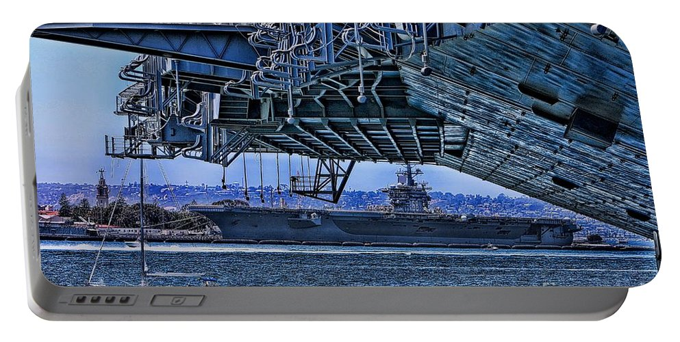 Aircraft Carriers Portable Battery Charger featuring the photograph The Carriers by Tommy Anderson