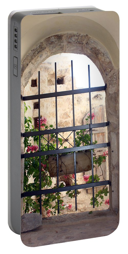 Window Portable Battery Charger featuring the photograph Window Of Hope by Munir Alawi