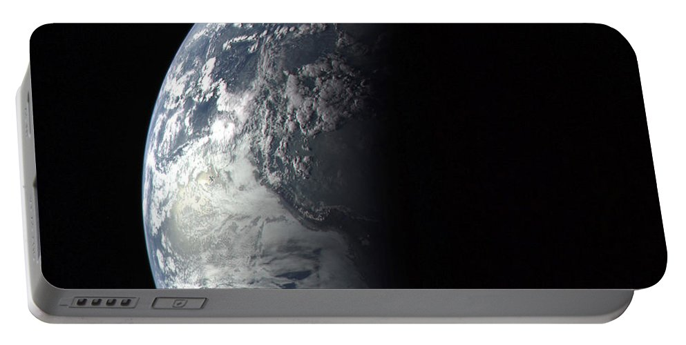 Earth Portable Battery Charger featuring the photograph Earth by Nasa