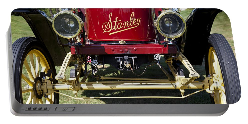 1910 Portable Battery Charger featuring the photograph 1910 Stanley Model 61 by Jack R Perry