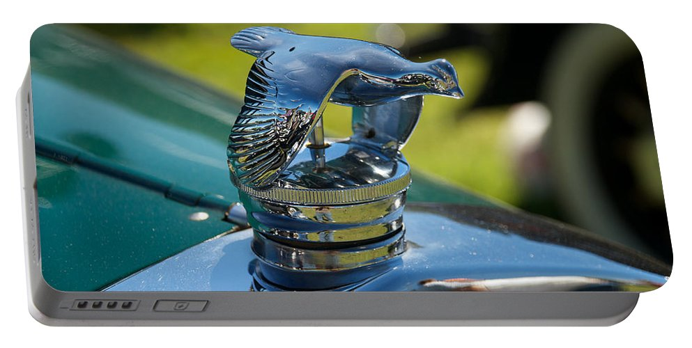 1929 Ford Model A Portable Battery Charger featuring the photograph 1929 Ford Model A by Mark Dodd