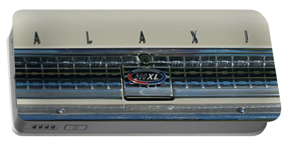 1963 Ford Galaxie Portable Battery Charger featuring the photograph 1963 Ford Galaxie 2 by Mark Dodd