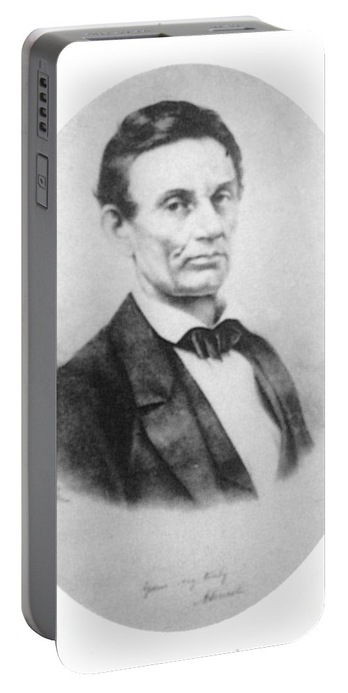 History Portable Battery Charger featuring the photograph Abraham Lincoln, 16th American President by Science Source