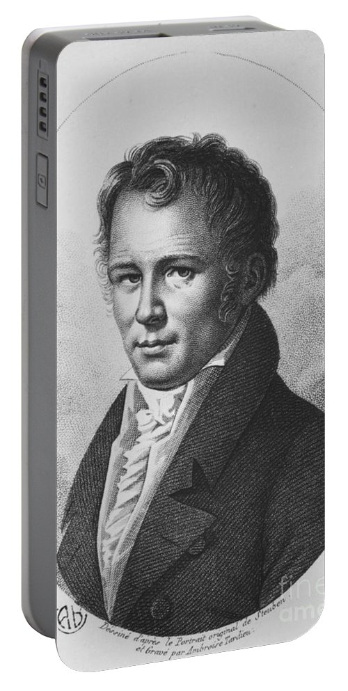 Science Portable Battery Charger featuring the photograph Alexander Von Humboldt, Prussian by Tomsich