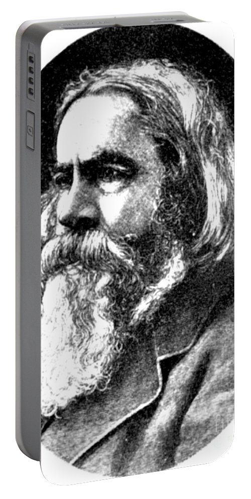 Science Portable Battery Charger featuring the photograph Benjamin Peirce, American Mathematician by Science Source