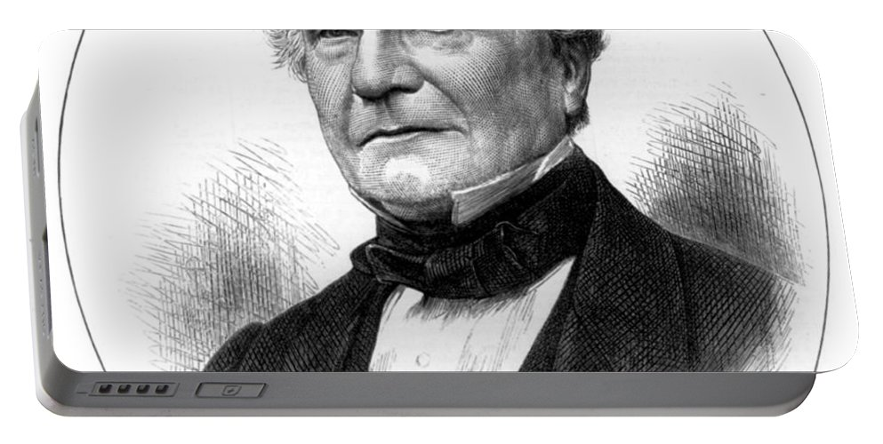 Science Portable Battery Charger featuring the photograph Charles Babbage, English Computer by Science Source