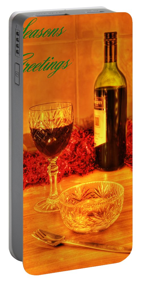 Christmas Portable Battery Charger featuring the photograph Christmas Poster by Chris Day