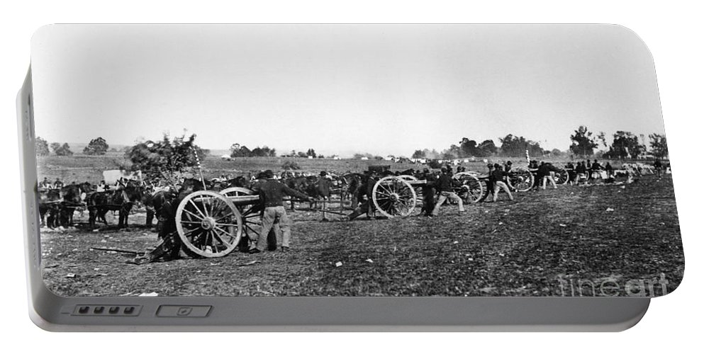1863 Portable Battery Charger featuring the photograph Civil War: Fredericksburg by Granger