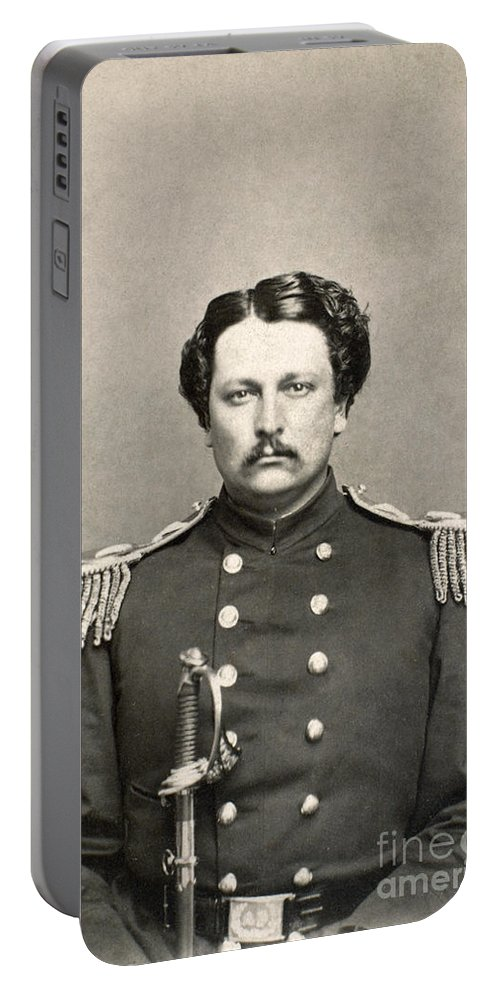 1860 Portable Battery Charger featuring the photograph Civil War: Union Soldier by Granger