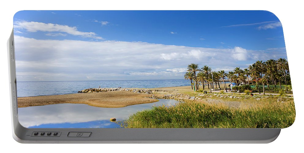 Marbella Portable Battery Charger featuring the photograph Costa Del Sol In Spain by Artur Bogacki