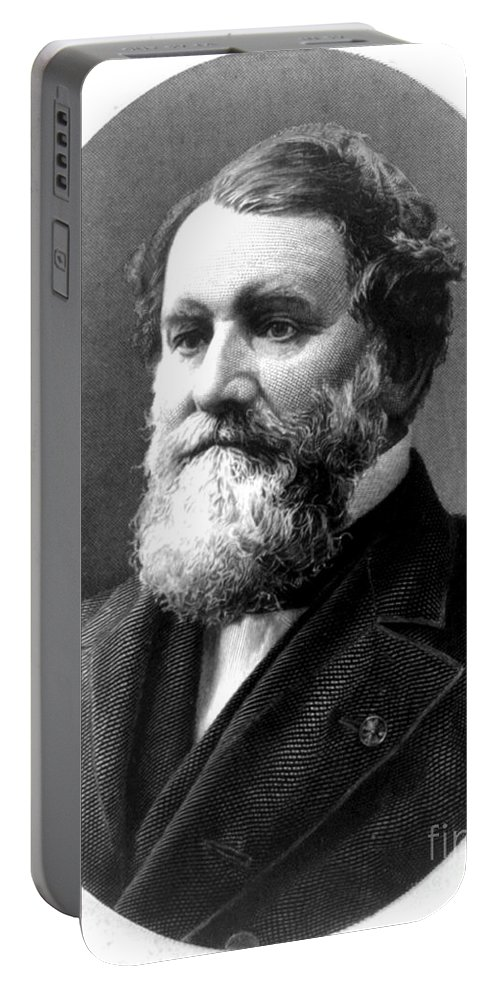 History Portable Battery Charger featuring the photograph Cyrus Mccormick, American Inventor by Photo Researchers
