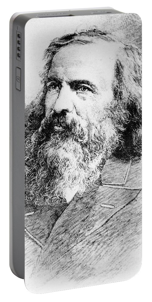 Science Portable Battery Charger featuring the photograph Dmitri Mendeleev, Russian Chemist by Science Source