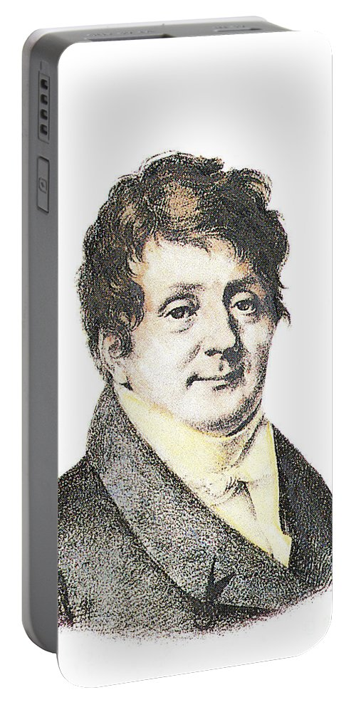 Science Portable Battery Charger featuring the photograph Joseph Fourier, French Mathematician by Science Source