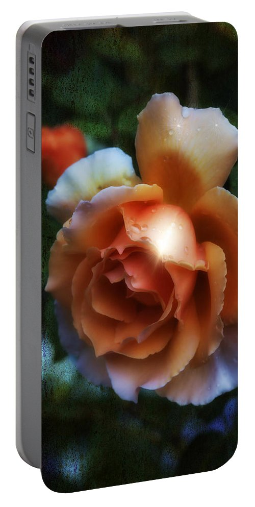 Botanicals Portable Battery Charger featuring the photograph Just Joey by Linda Dunn