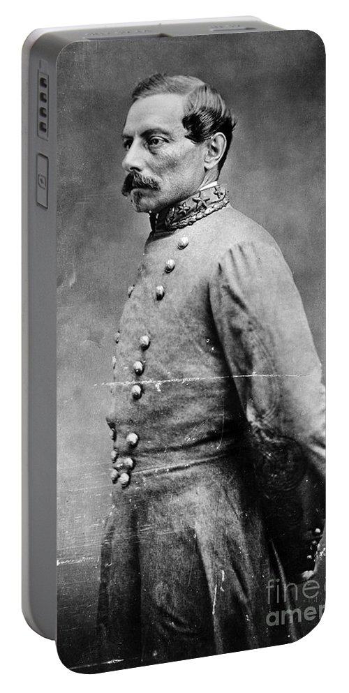 1860s Portable Battery Charger featuring the photograph Pierre G.t.de Beauregard by Granger