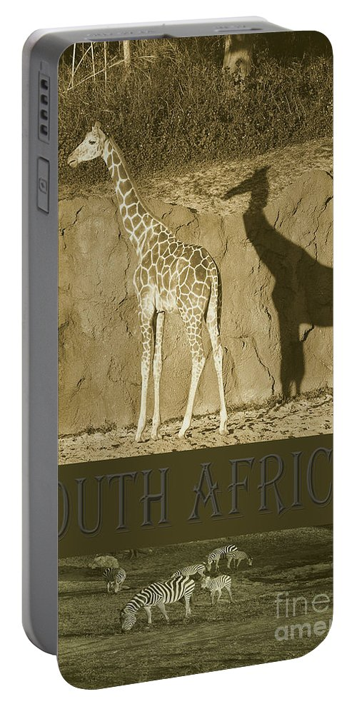 South Africa Portable Battery Charger featuring the photograph South Africa by Robert Meanor