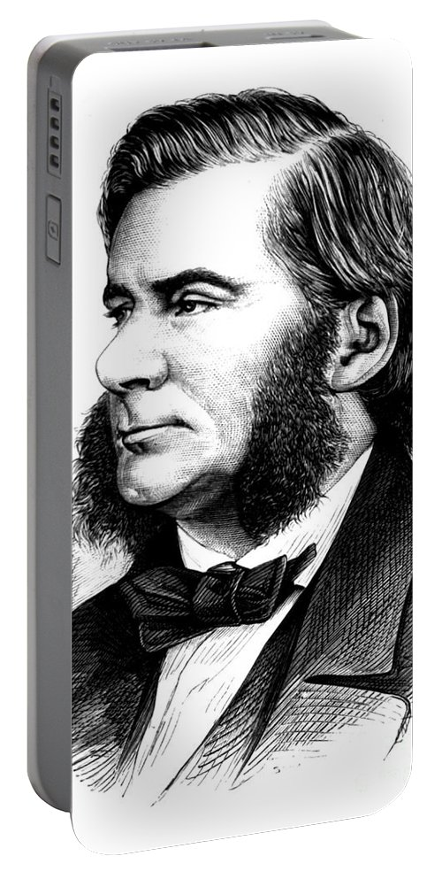 Science Portable Battery Charger featuring the photograph Thomas Huxley, English Biologist by Science Source