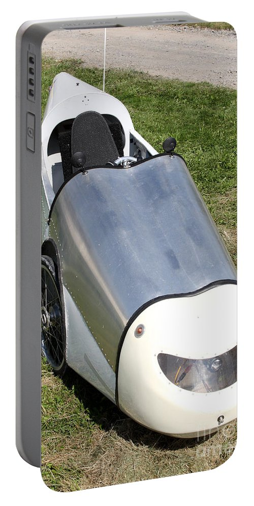 Human Powered Portable Battery Charger featuring the photograph Velomobile by Ted Kinsman