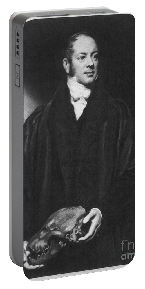 Science Portable Battery Charger featuring the photograph William Buckland, English Paleontologist by Science Source