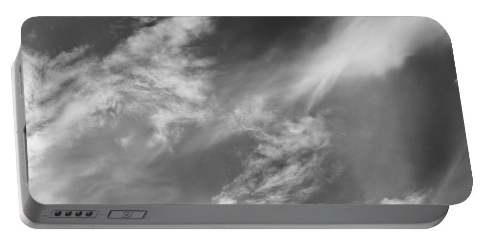 Clouds Portable Battery Charger featuring the photograph Cloud Imagery by David Pyatt