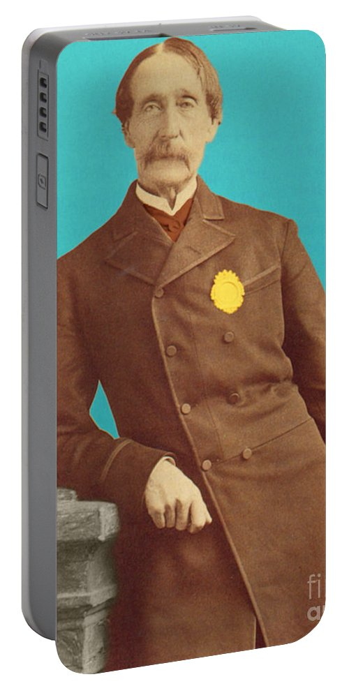 Henry Bergh Portable Battery Charger featuring the photograph Henry Bergh, American Founder Of Aspca by Photo Researchers