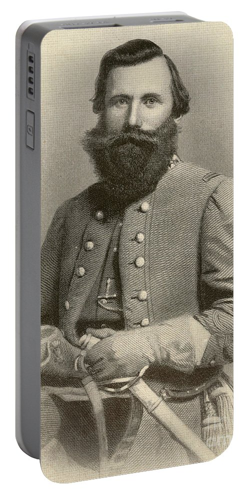 America Portable Battery Charger featuring the photograph Jeb Stuart, Confederate General by Photo Researchers