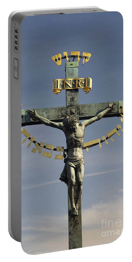 Jesus Portable Battery Charger featuring the photograph Jesus Christ by Michal Boubin