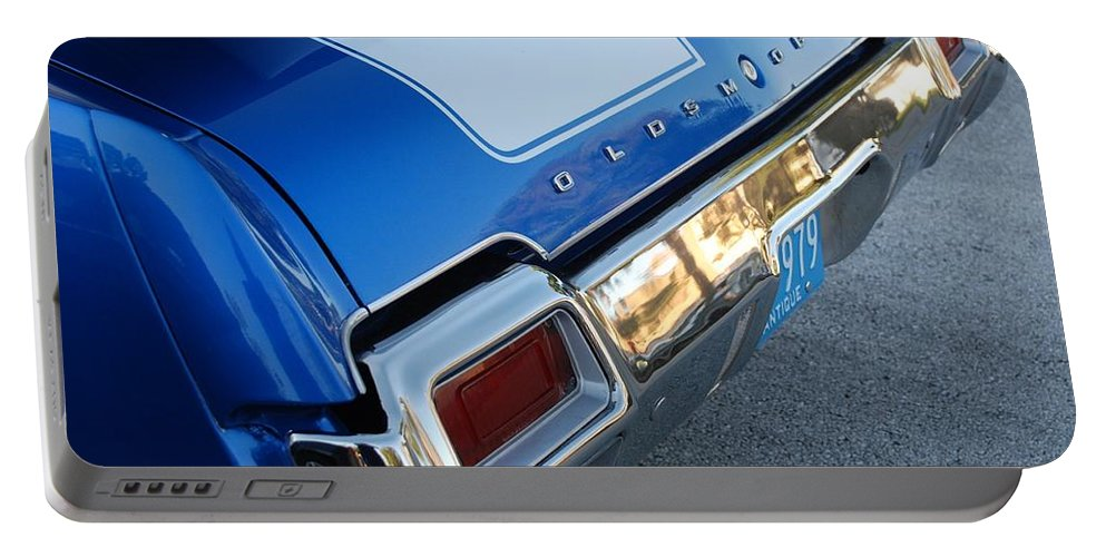 Oldsmobile Portable Battery Charger featuring the photograph Olds C S by Rob Hans