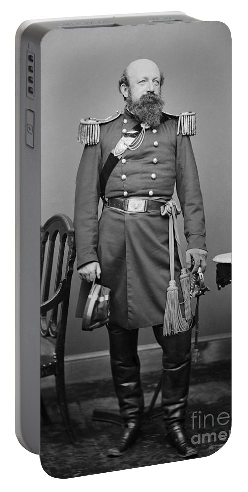 1862 Portable Battery Charger featuring the photograph Civil War: Union Soldier by Granger