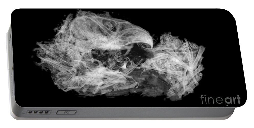 Xray Portable Battery Charger featuring the photograph Owl Pellet by Ted Kinsman