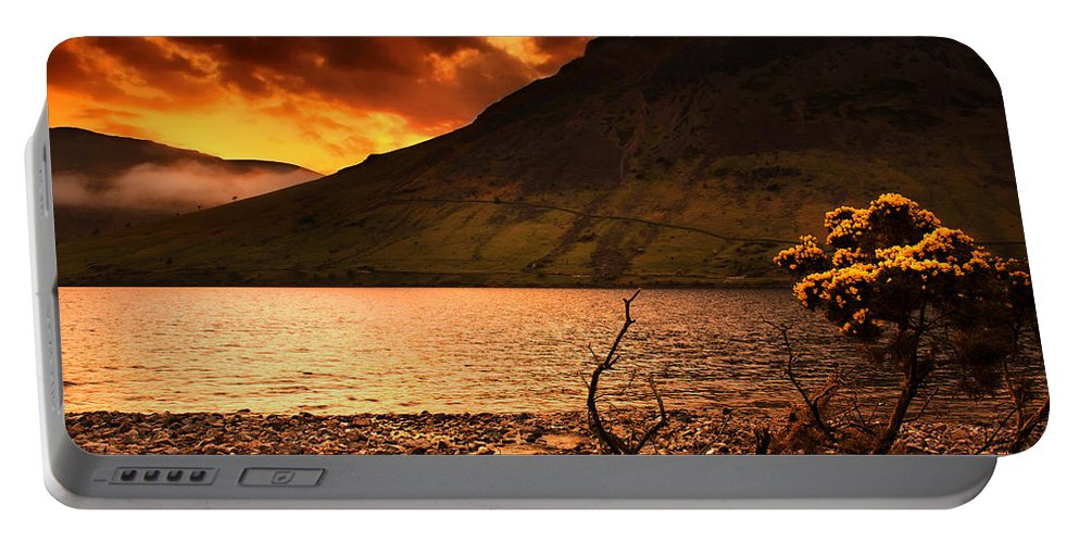 Country Portable Battery Charger featuring the photograph Sunset by Svetlana Sewell