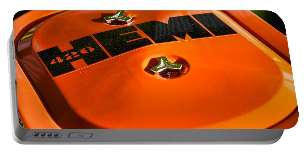 Chrysler Portable Battery Charger featuring the photograph 426 Hemi by Gordon Dean II