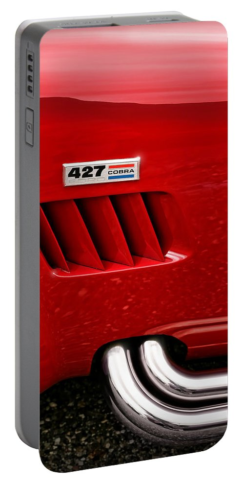 Ac Portable Battery Charger featuring the photograph 427 Ford Cobra by Gordon Dean II