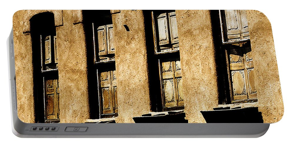 Windows Portable Battery Charger featuring the photograph Above Galisteo by Terry Fiala