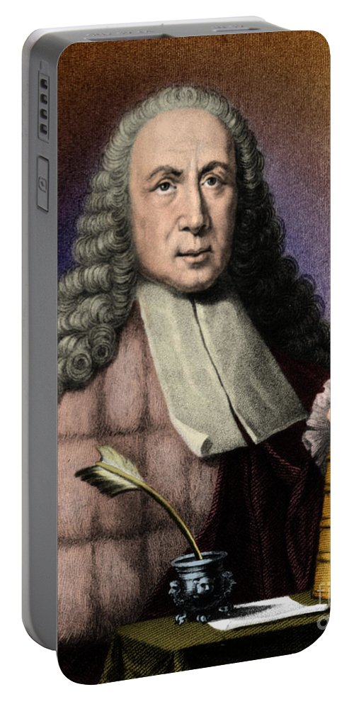 History Portable Battery Charger featuring the photograph Morgagni, Italian Anatomist by Science Source