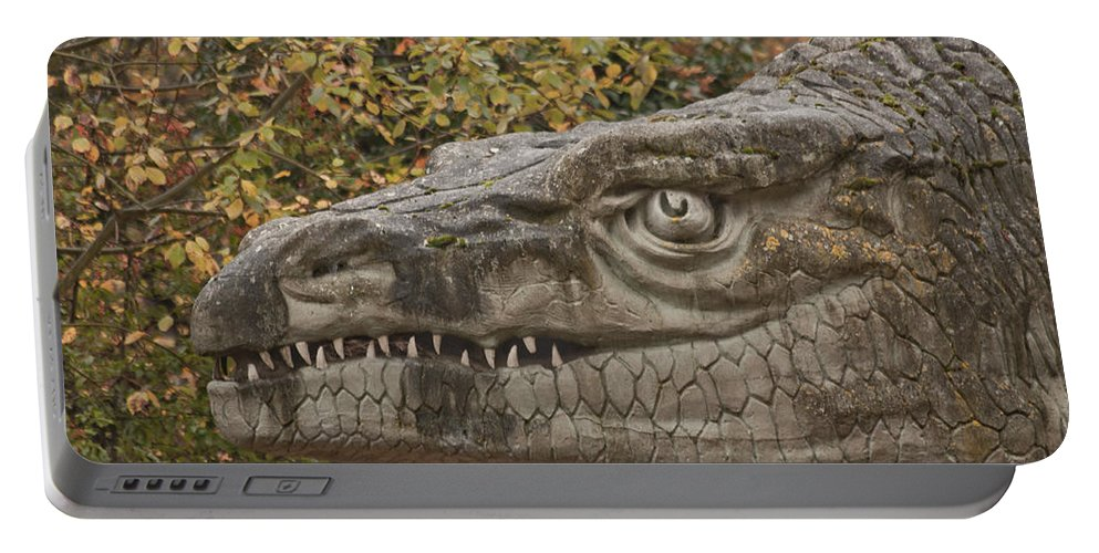 Dinosaur Portable Battery Charger featuring the photograph Dinosaur by Dawn OConnor