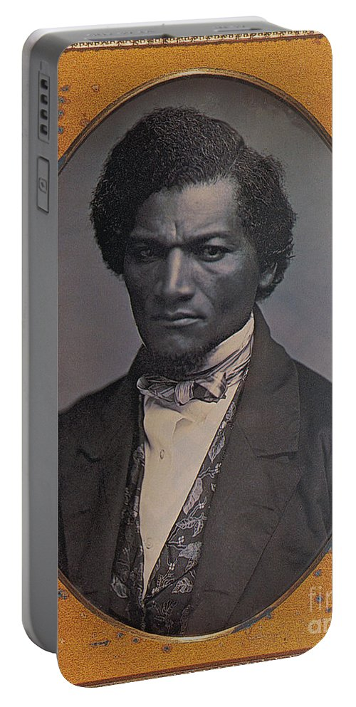 History Portable Battery Charger featuring the photograph Frederick Douglass, African-american by Photo Researchers
